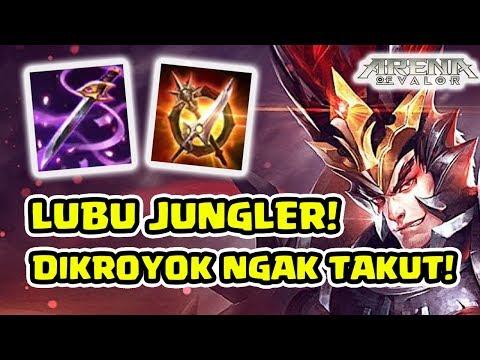 Kayak Ngecit! Lubu Assassin Jungler! Omniarms Cucok Abes!- Arena of Valor AOV