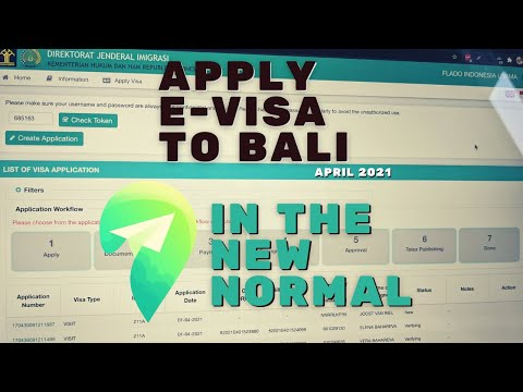 How to apply offshore business visa B211A for Bali Indonesia on April 2021 / Check status of e-visa
