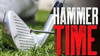 Improve your ball striking with simple 'Hammer Drill'