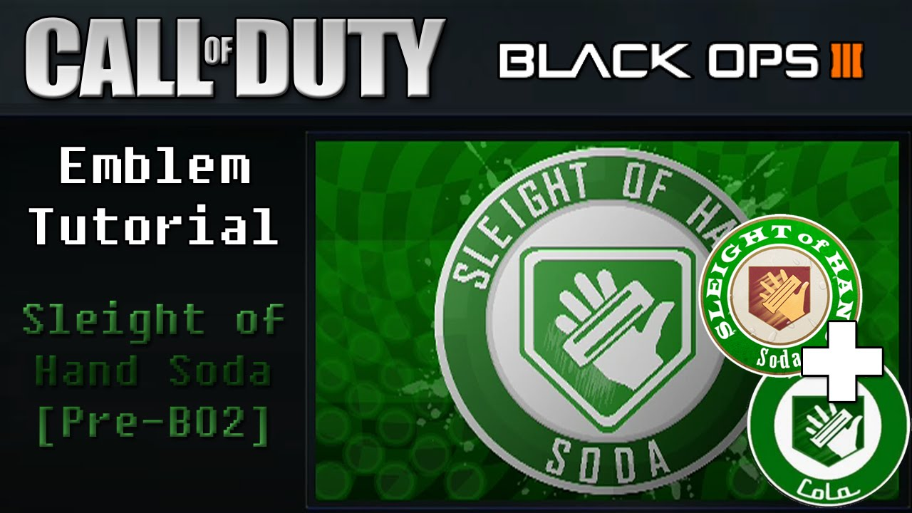 Mixed old and new Speed Cola: CoD: BO3 Perk a Cola