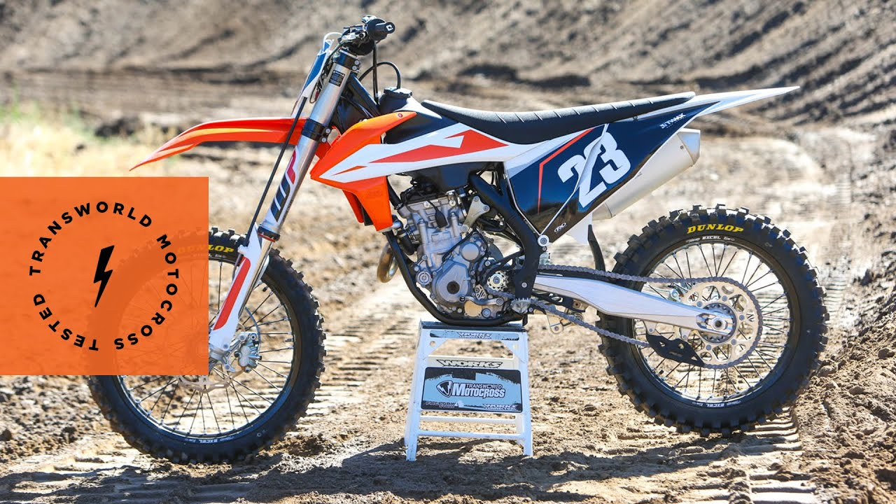 technical briefing of the 2019 ktm 250 sx f youtube. Black Bedroom Furniture Sets. Home Design Ideas