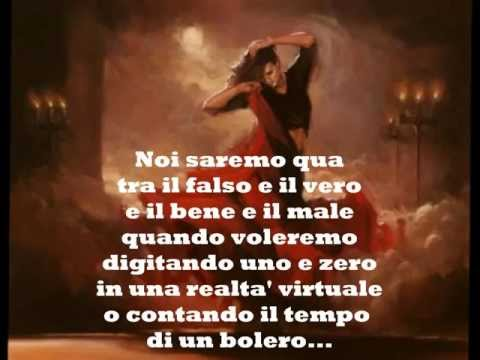 """""""Bolero"""", Con Testo (C. Baglioni)"""