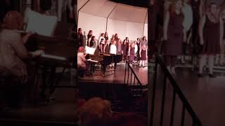SAHS 2018 fall concert. Song; Cantate Et Exultate