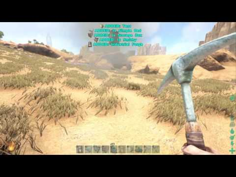 Ark: Survival Evolved Glitches industrial Forge Pick Up