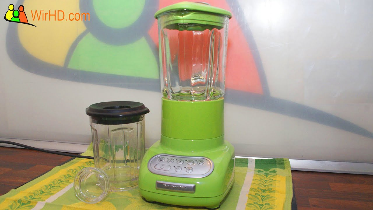 Kitchenaid Blender Unboxing And Review Deutsch German Youtube