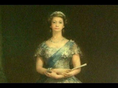 Potret Ratu Elizabeth II yang Disembunyikan Terungkap