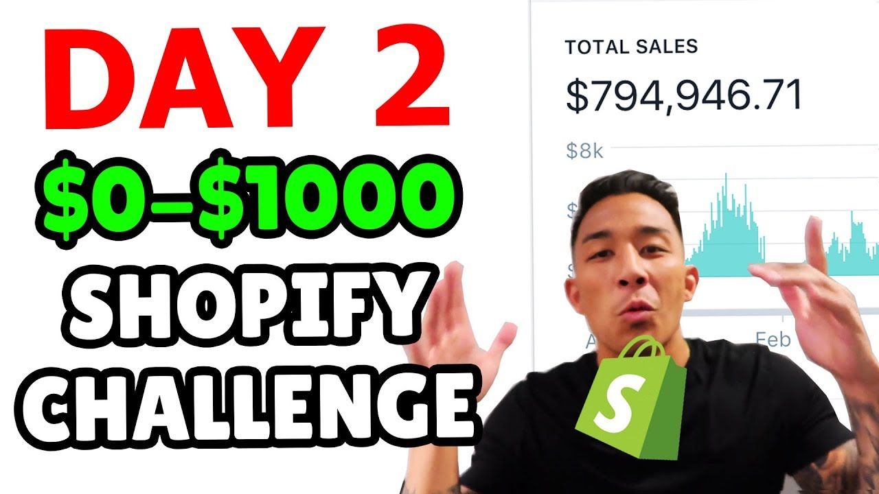 ???? DAY 2 | SHOPIFY DROPSHIPPING $0-$1000 CHALLENGE | CREATING A SHOPIFY STORE + APPS TO INSTALL ??