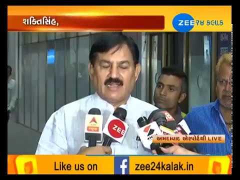 Ahmedabad: GPCC President Bharatsinh Solankee talked with media on his Resignation-ZEE 24 KALAK
