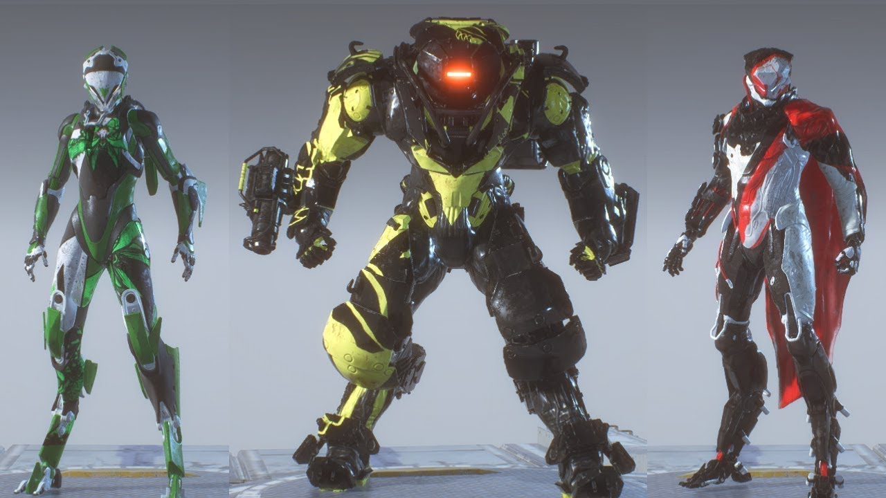 Anthem New Vinyls Skins For Javelin With Paint Customization Colossus Interceptor Storm Youtube