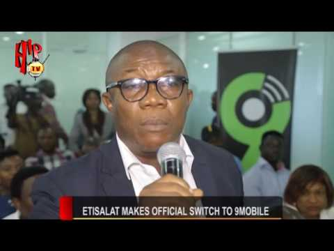 ETISALAT MAKES OFFICIAL SWITCH TO 9 MOBILE (Nigerian Entertainment News)