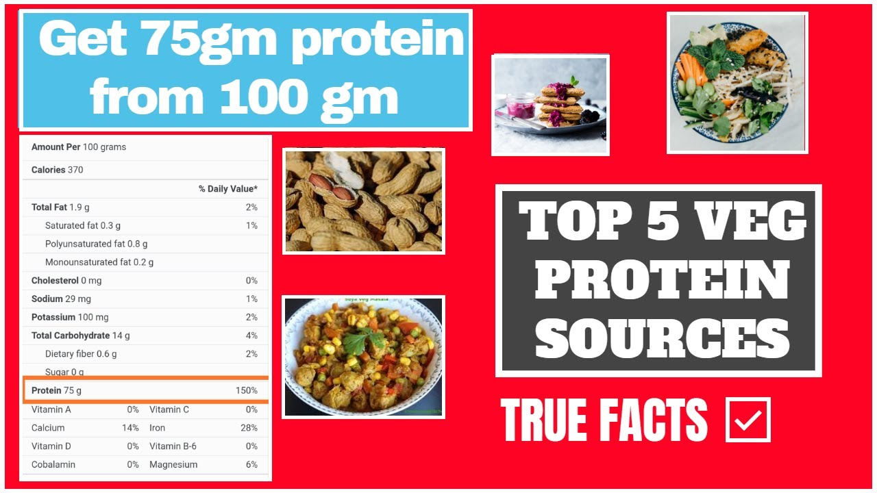 TOP 5 HIGH VEG PROTEIN SOURCE | GET 75GRM PROTEIN FROM ONE SOURCE| Low budget protein diet|Neutroweb