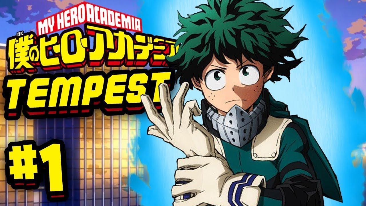 BEST MY HERO ACADEMIA GAME?! | Roblox: Hero Academy Tempest | Episode 1
