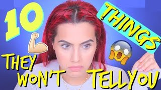 10 THINGS YOU DON'T KNOW ABOUT BEING FIT | BODMONZAID