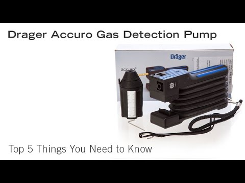 Drager Accuro Gas Detection Pump – Top 5 Things You Need to