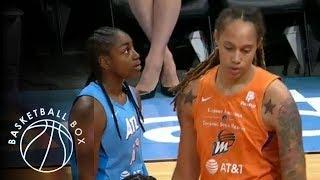 [WNBA] Phoenix Mercury vs Atlanta Dream, Full Game Highlights, August 29, 2019