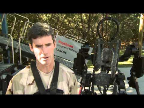 Raytheon XOS 2 exoskeleton