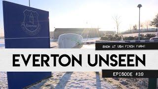 SNOWBALL FIGHTS & PHOTOSHOOTS! | EVERTON UNSEEN #39