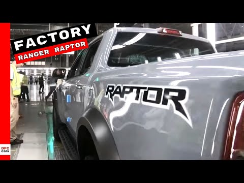 Ford Ranger Raptor Factory