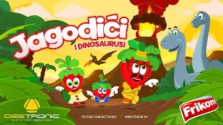 Repeat youtube video Jagodici i Dinosaurusi / The Strawberries & Dinosaurs (2017) Hit Video 4 Kids