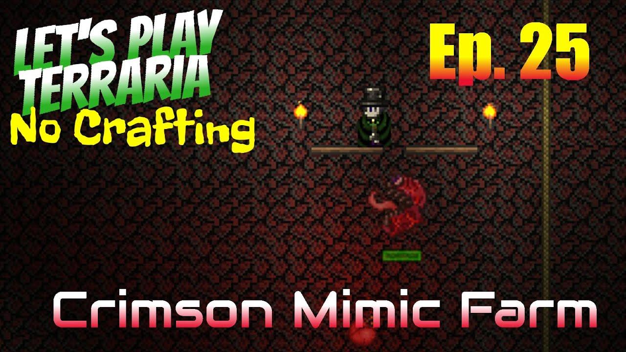 how to get crimson mimics terraria