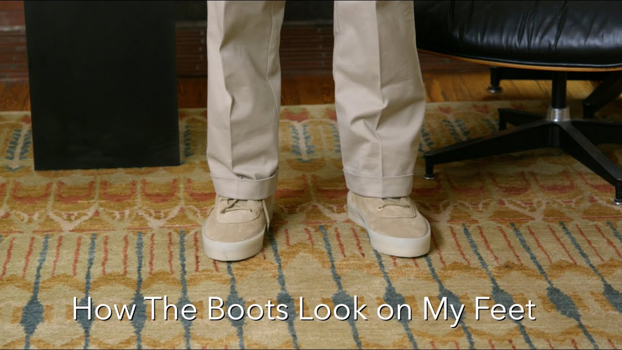 c061c5536 Yeezy Season 2 Crepe Boot Review + On Feet - YouTube