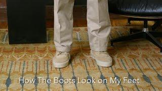Yeezy Season 2 Crepe Boot Review + On