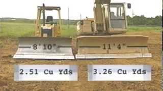 KOBELCO ED180 vs Caterpillar D5C