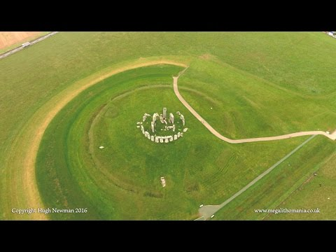 Stonehenge from the Air Aerial View of an Ancient Landscape