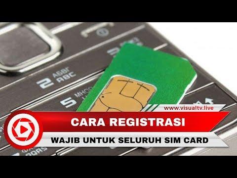 Registrasi Kartu SIM Harus Gunakan KK Dan KTP, Ini Caranya