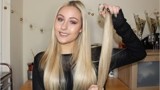 HOW TO: Applying Hair Extensions to Thin Hair!