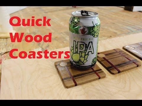 Wood Coasters