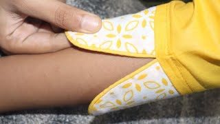 Very beautiful and stylish sleeves design with underground piping