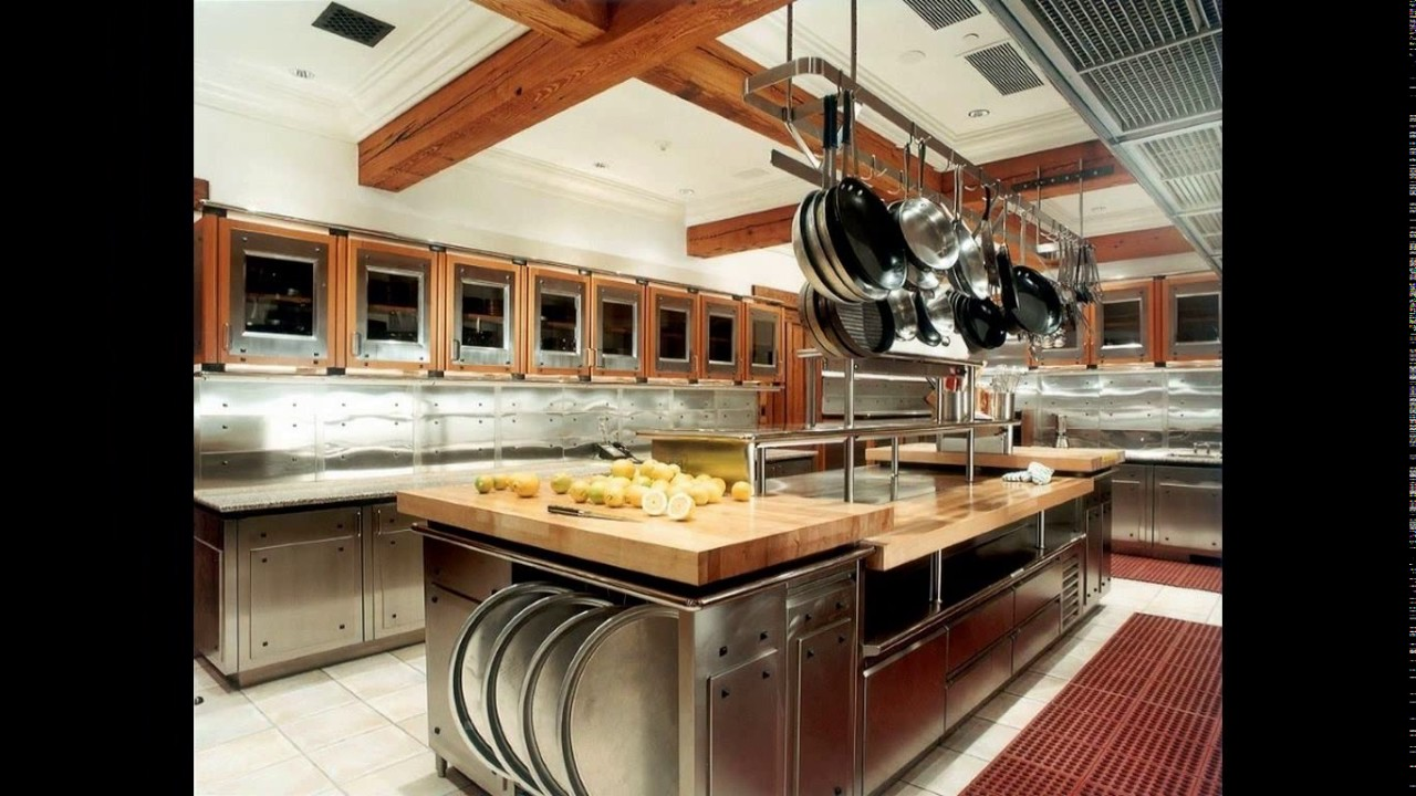 Bbq restaurant kitchen design - YouTube