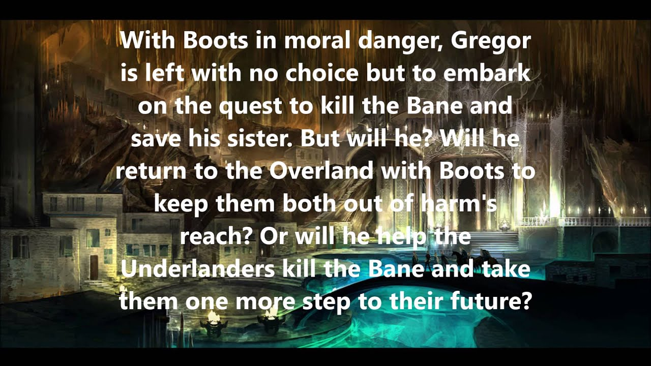 Gregor and the Prophecy of Bane (The Underland Chronicles, Book 2)-ExLibrary