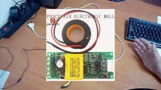 Монитор электроэнергии на ESP8266 и PZEM-004T