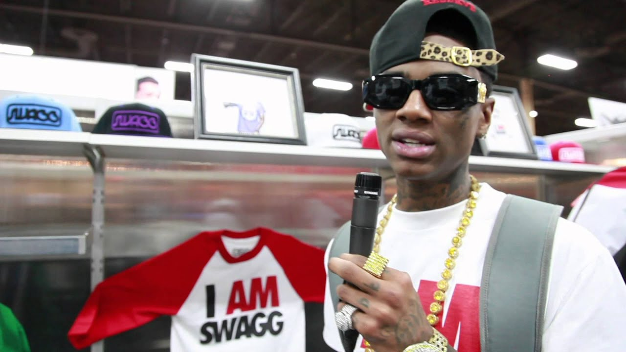 Soulja Boy Gets His Swag From Japan ( Magic Clothing