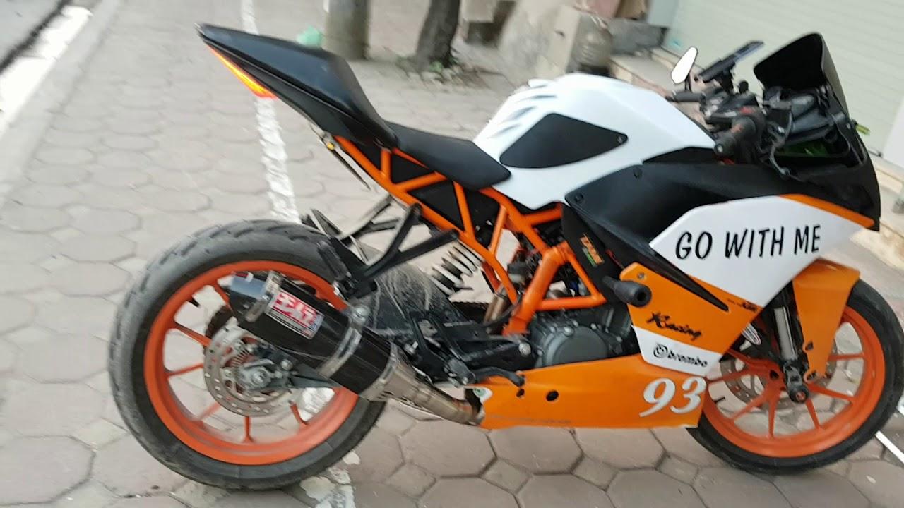 KTM RC250 Độ pô Youshimura cổ slipon | Dán Bình xăng .. Quá đẹp