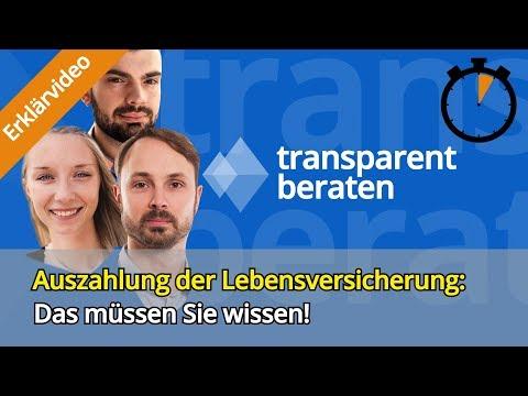 Lebensversicherung Auszahlung: Diese Dinge Sollten Sie Wissen! (2019)