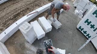 Murowanie ścian nośnych . Jak wymurować ściany nośne. Zrób to sam.