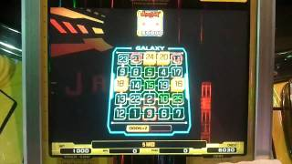ビンゴギャラクシー スーパージャックポット50,000枚!!!