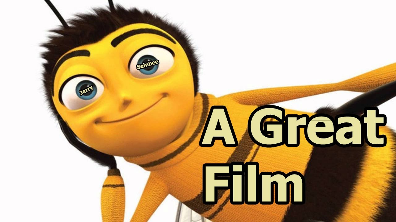 in defence of bee movie  a bizarre summary  youtube bee clip art free images bee clip art outline