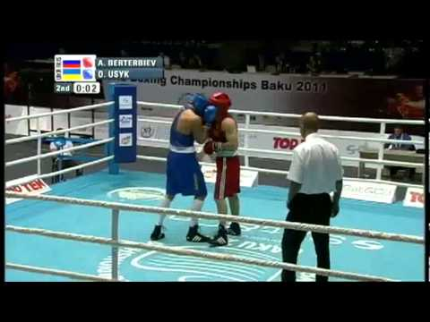 Heavy (91kg) QF- Berterbiev Artur (RUS) VS Usyk Oleksandr (UKR) -2011 AIBA World Champs