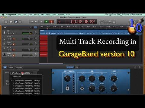 GBv10: Enable Multi-Track Recording - Minute GarageBand