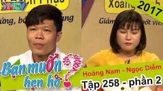 Cô gái thẳng thắn từ chối hẹn hò chàng trai trước khi bấm nút | Hoàng Nam - Ngọc Diễm | BMHH 258