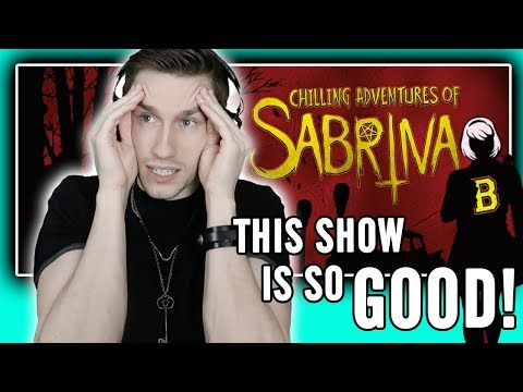 Watching 'The Chilling Adventures of Sabrina' (full season binge!!)