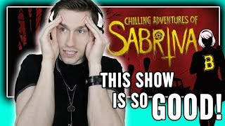"Watching ""The Chilling Adventures of Sabrina"" (full season binge!!)"