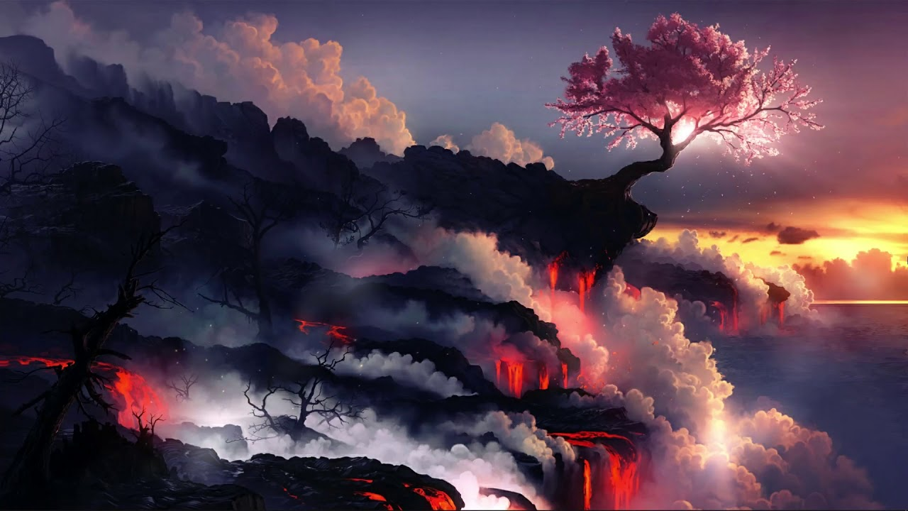 Wallpaper Engine - Sakura & Smoke - YouTube