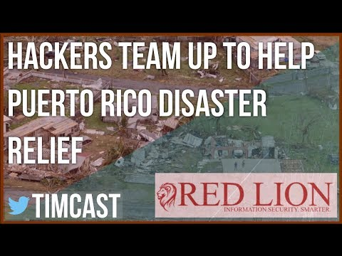 HACKERS TEAM UP FOR PUERTO RICO HURRICANE RELIEF