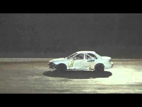 Ark La Tex Speedway 4 cylinder heat race 2 9/26/15