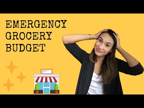 April Grocery Budget - How I'm Adjusting For This Emergency!